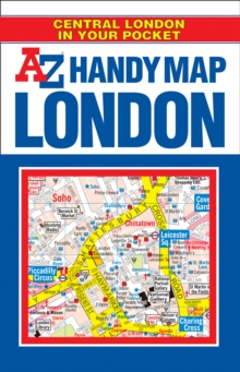 Handy Map of Central London : AZ Handy Map : Central London in Your Pocket, Paperback