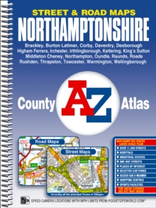 Northamptonshire County Atlas, Spiral bound