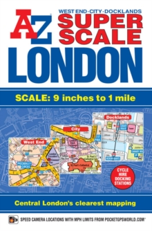 Super Scale London Street Atlas, Paperback