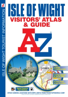 Isle of Wight Visitors Atlas & Guide, Paperback Book