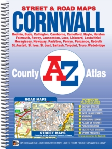 Cornwall County Atlas, Spiral bound