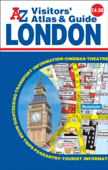 London Visitors Atlas & Guide, Paperback