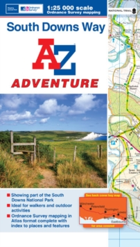 South Downs Way Adventure Atlas, Paperback