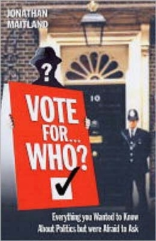 Vote for... Who?, Hardback Book