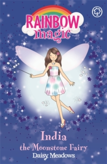 India the Moonstone Fairy : The Jewel Fairies Book 1, Paperback