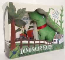 Dinosaur Farm Boxed Book and Toy Set, Mixed media product