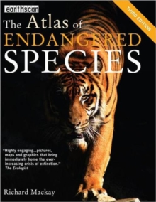 The Atlas of Endangered Species, Paperback