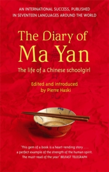 The Diary of Ma Yan : The Life of a Chinese Schoolgirl, Paperback
