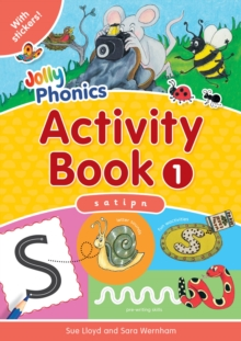 Jolly Phonics Activity Book 1 : s,a,t,i,p,n, Paperback Book