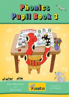 Jolly Phonics Pupil Book 3, Paperback