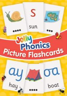 Jolly Phonics Picture Flash Cards, Cards