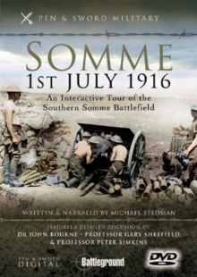 Somme, 1st July 1916: Southern Sector, DVD  DVD
