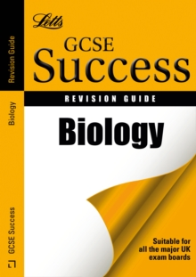 Letts GCSE Success : Biology: Revision Guide, Paperback Book