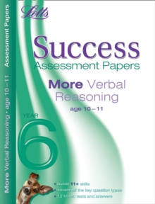 More Verbal Reasoning Age 10-11 : Assessment Papers, Paperback