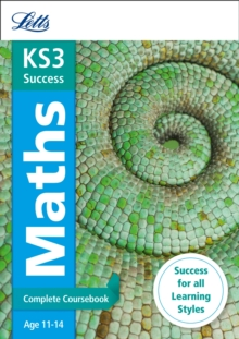 Letts KS3 Revision Success - New Curriculum : KS3 Maths Complete Coursebook, Paperback