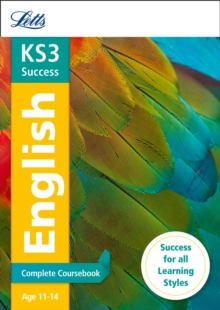 Letts KS3 Revision Success - New Curriculum : KS3 English Complete Coursebook, Paperback