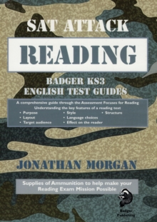 SAT Attack Reading : Badger KS3 English Test Guides, Paperback