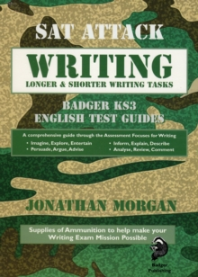 SAT Attack Writing : Badger KS3 English Test Guides, Paperback Book
