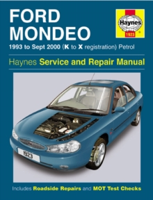 Ford Mondeo Service and Repair Manual : 1993 to Sept 2000 (K to X Reg), Hardback