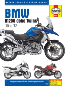 BMW R1200 Dohc Air-cooled Service and Repair Manual : 2010-2012, Hardback
