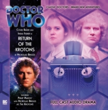 DR WHO RETURN OF THE KROTONS, CD-Audio