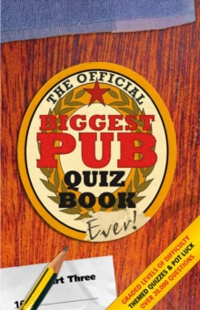 The Biggest Pub Quiz Book Ever!, Paperback