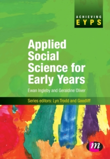 Applied Social Science for Early Years, Paperback