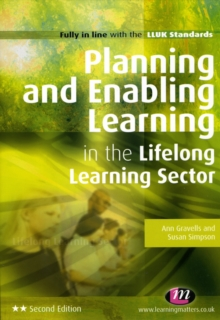 Planning and Enabling Learning in the Lifelong Learning Sector, Paperback Book