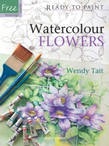 Watercolour Flowers, Paperback
