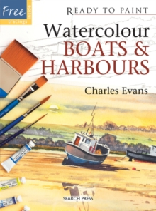 Watercolour Boats and Harbours, Paperback