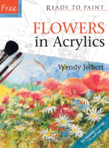 Flowers in Acrylics, Paperback