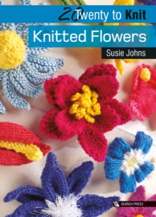 Knitted Flowers, Paperback Book