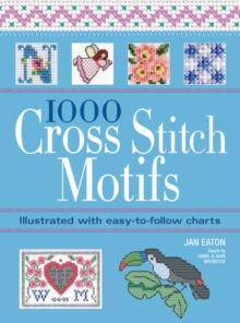 1000 Cross Stitch Motifs, Paperback