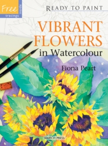 Vibrant Flowers in Watercolour, Paperback