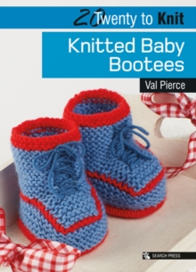 Knitted Baby Bootees, Paperback Book
