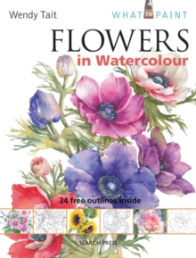 Flowers in Watercolour, Paperback