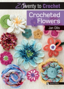 Crocheted Flowers, Paperback