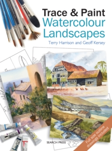 Trace & Paint Watercolour Landscapes, Paperback