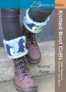 Knitted Boot Cuffs, Paperback