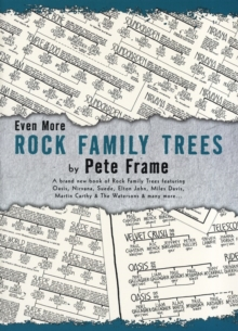 Even More Rock Family Trees, Paperback