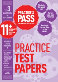 Practise & Pass 11+ Level Three: Practice Tests Variety Pack 1, Paperback