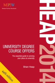 HEAP: University Degree Course Offers, Paperback Book