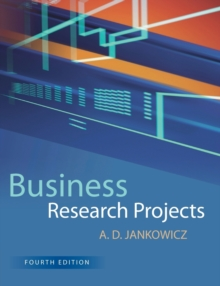 Business Research Projects, Paperback