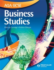 AQA GCSE Business Studies Textbook, Paperback Book