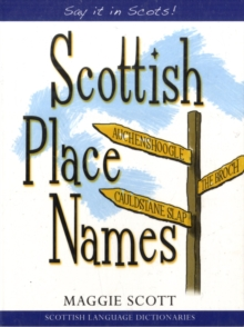 Scottish Place Names, Paperback