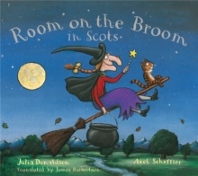 Room on the Broom in Scots, Paperback