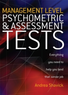 Management Level Psychometric and Assessment Tests, Paperback