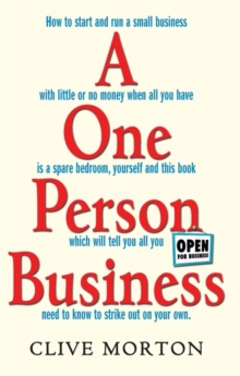 A One Person Business : How To Start A Small Business, Paperback