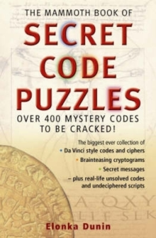 The Mammoth Book of Secret Code Puzzles, Paperback