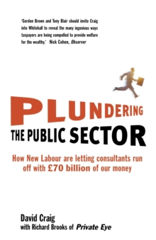 Plundering the Public Sector : How New Labour are Letting Consultants Run off with GBP70 Billion of Our Money, Paperback Book